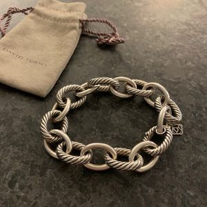 David Yurman Jewelry - David Yurman Extra-Large Oval Link Bracelet